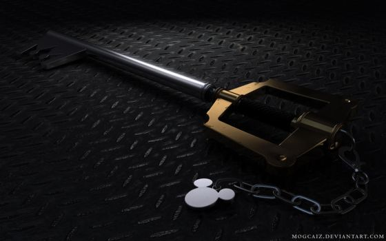 Keyblade - Kingdom Key I by mogcaiz