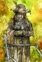 The Brown Wizard from The Hobbit by LevonHackensaw