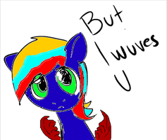 But.... My pony OC wubs u... by SonicandSilver