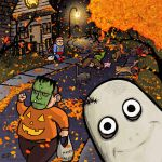 Halloween in a Small Town by ZacPensol