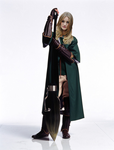 VH - Cloe Tupper - Slytherin Quidditch by The-other-Twin
