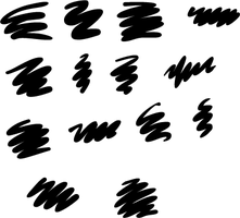 Illustrator Thick Brushes by bcre80v