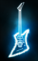 Electrifying Light Guitar by azevedo9