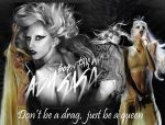 lady gaga by TadzioAutumn