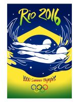 Olympics Poster by Vahlre
