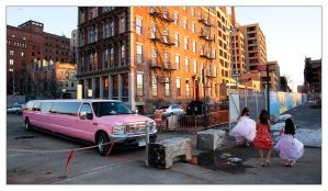 Pink limo by flemmens