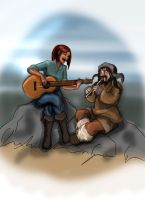 The Bard and the Toymaker by Odme1
