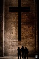 Looking at the cross by sylvaincollet