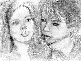 Peter and Wendy by ClairBlueArt