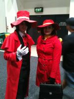 Where the world is Alucard and Carmen Sandiego by LON3LYPRINCE86