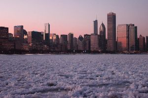 Chicago Sunset by soulessrobin