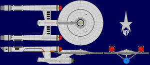 Constitution Class testbed by kavinveldar
