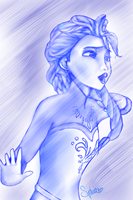 Elsa the Snow Queen by ArtOSophie