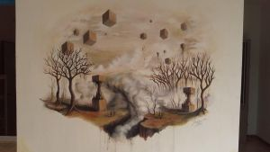 wall painting by BenJogan