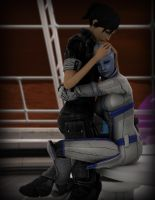 Kira + Liara - Support by Asarimaniac
