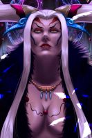Ultimecia by Jcomaeda