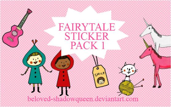 Fairytale PNG Stickers Vol 1 by Beloved-shadowqueen