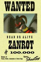 Wanted Zanrot by Donarion