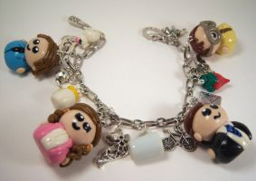 The Office Charm Bracelet by sweet-geek