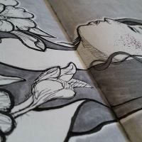 Longing Sketchbook by lavonia