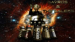 Davros and the Daleks wp by SWFan1977