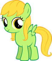 Nature Wind Filly - art trade by MoongazePonies