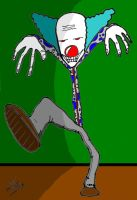 Scary Clown by ZombiePictures