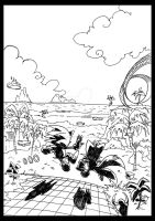 My games : 01 Sonic the Hedgehog by ThePandamis