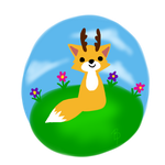 Springtime Fox by Brittany-Purcell