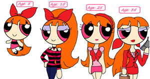 Blossom through the Decades by PurfectPrincessGirl