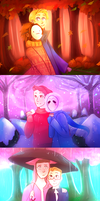 [speedpaint] Youtubers seasons by ChloesImagination