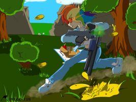 Paintball with RD by Junker-kun