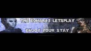 Theednar83 Youtube Banner by TaintedVampire