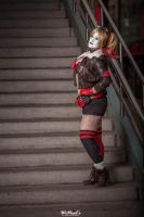 Harley Quinn Bombshell Cosplay by St3phBot