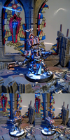 Grey Knights Librarian Crom by TheBl4ckCat
