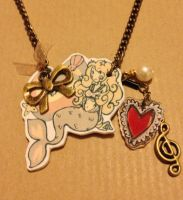 Little Mermaid Necklace by FlyingTeacup