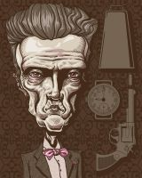 Walken by GreatScottArt