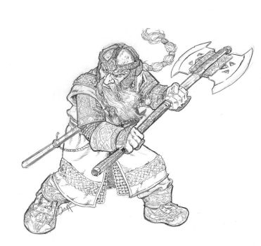 Gimli by mistermoster