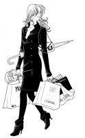 Rosalie shopping... by nami64