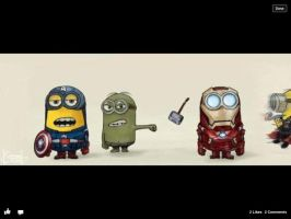 Avenger minions by Forest-skunk