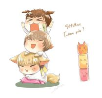 SHINee Totem pole by KnotBerry