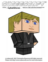 Cubeecraft - Luke Skywalker 'Jedi' by CyberDrone