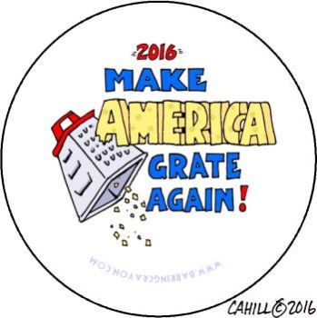 Make America Grate Again by Conservatoons