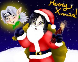 Orochimaru is Santa Claus by Becky-KH