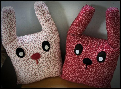 Twin Bunnies by PLavender