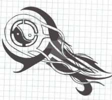 Yin-Yang Tattoo Design by Ladyknight17