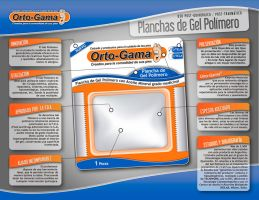 Orto-Gama Flyer and Blister by offernandinhoon