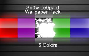 Sn0w Le0pard Wallpaper Pack by chris2fresh