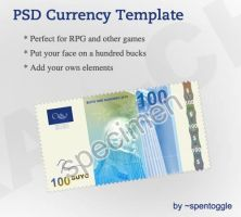 PSD Currency Template by spentoggle