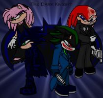 The Dark Knight 'Sonic Ver.' by TrueblueSonic